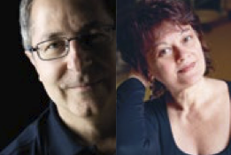 Giorgio Amitrano e Laura Bosio