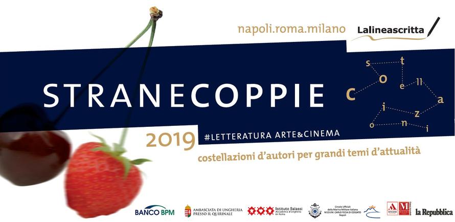 Strane Coppie 2019 letteratura arte cinema
